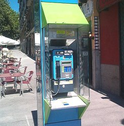 Madrid Phone Booth