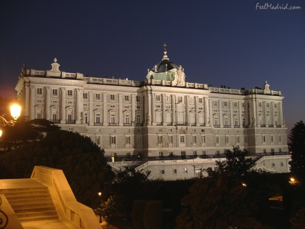 Madrid Royal Palace at Night - Palacio Real