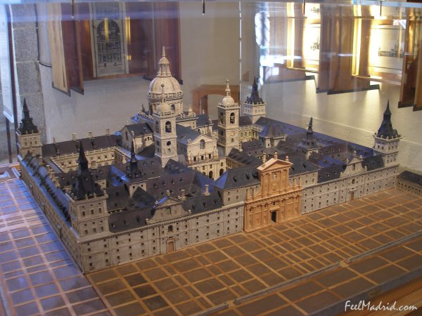 Model of El Escorial