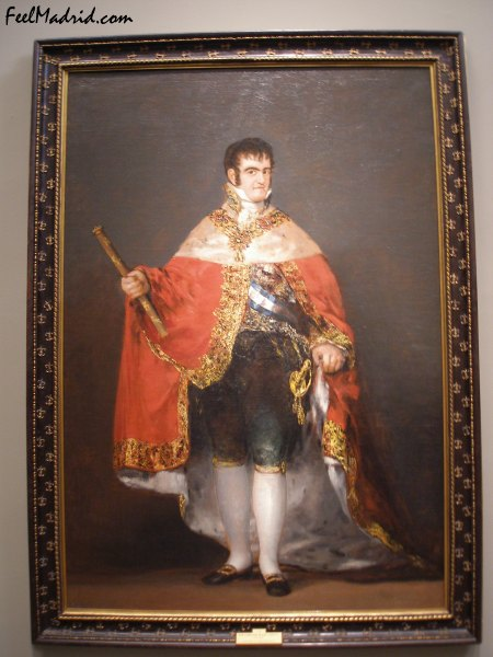 King Fernando VII by Goya