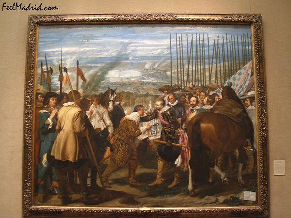 Las Lanzas (The Surrender of Breda) by Velzquez