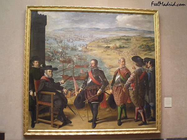 Defense of C�diz Against the English by Zurbar�n