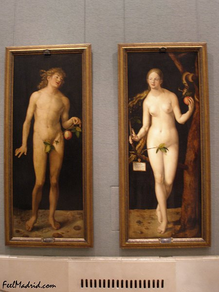 Albrecht Durer Adam And Eve 1507 Adam And Eve by Albrecht d Rer