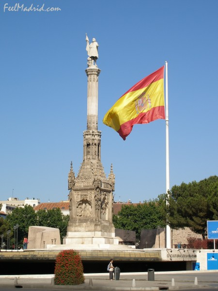 Columbus Monument, Madrid