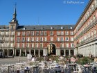 Terrazas outdoor cafes in Plaza Mayor