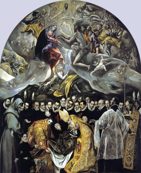 The Burial of Count Orgaz, El Greco