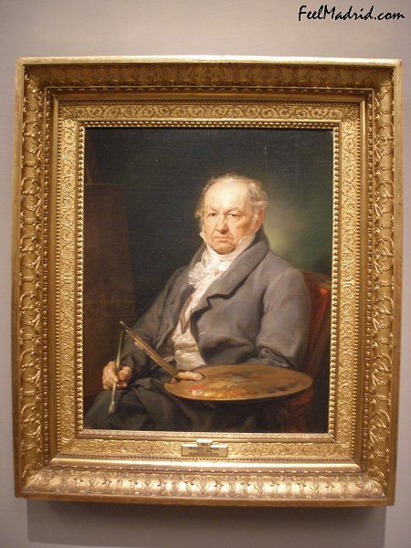 Portrait of Francisco de Goya by Vicente López