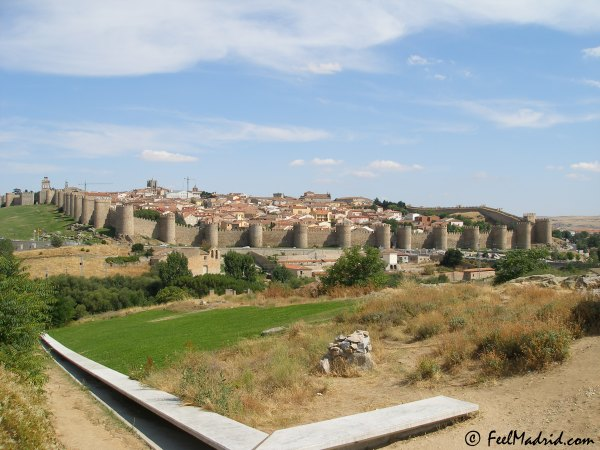 View of �vila, Spain
